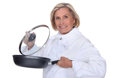 chirpy: Female chef