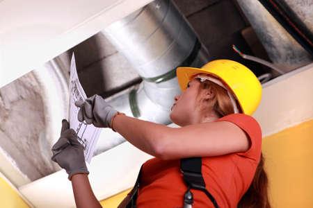 duct: Mujer de ventilaci�n sistema de doble control