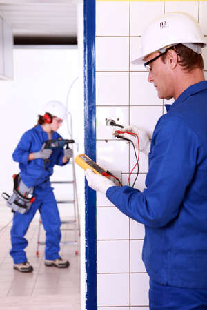 Electricians photo