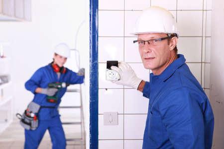 linesman: Electricians