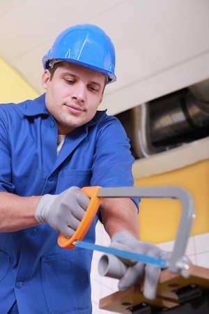 sawing: Artisan sawing tube