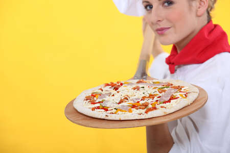 Pizza chef Stock Photo - 13807751