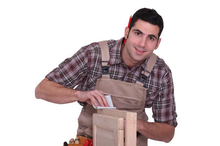 carpenter working photo