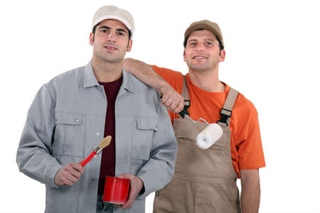 Painter and decorator Stock Photo - 13808792