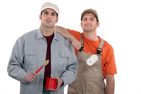 Painter and decorator Stock Photo - 13808792