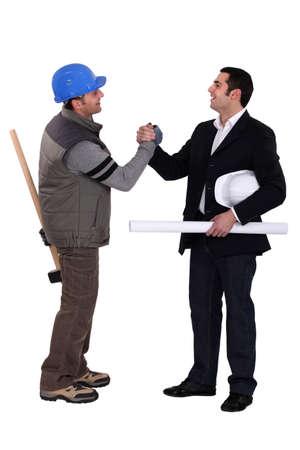 collaborators: Collaborators handshaking