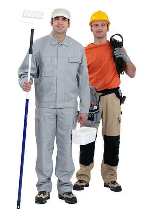 A team of tradesmen Stock Photo - 13852861