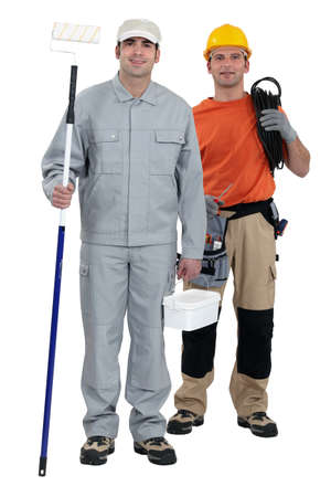 A team of tradesmen Stock Photo - 13852861