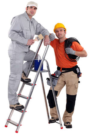 A team of tradesmen Stock Photo - 13852709