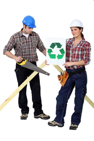 fluency: Recyclable materials Stock Photo