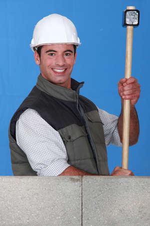 obscurity: construction worker