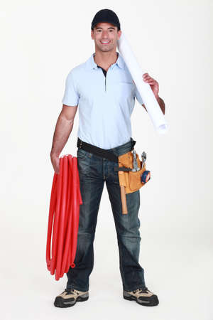 Craftsman with tools photo