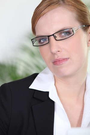 strict woman photo