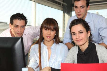 Office team photo