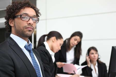 Businessman with attitude photo