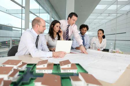 회사: 작업 회의