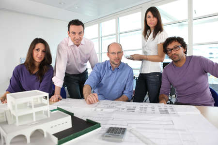 Architect's office Stock Photo - 13900383