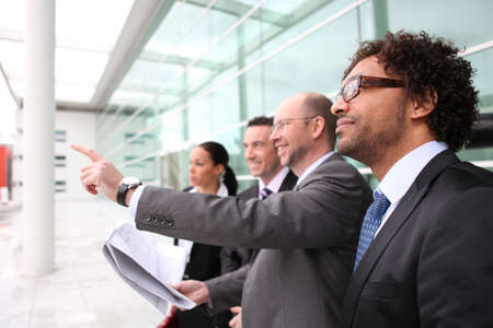 Colleagues on a business trip Stock Photo - 13900375