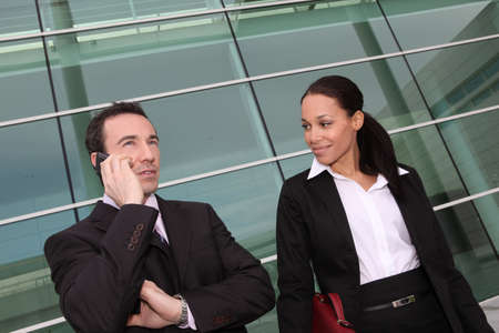 A team of business professionals Stock Photo - 13849123