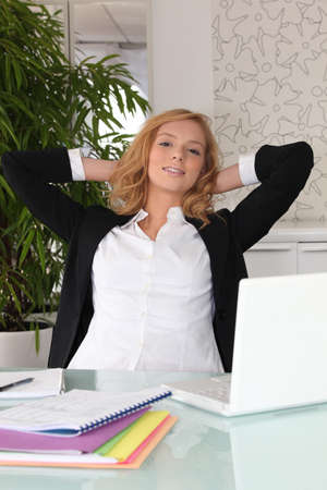 Young female executive Stock Photo - 13898816
