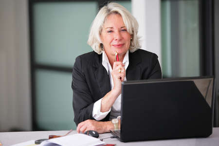 businesswoman: An experienced businesswoman