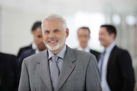 An experienced businessman photo