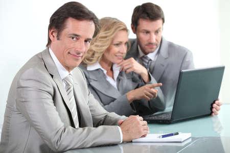 Office meeting Stock Photo - 13903885