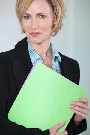 Woman in charge of recruitment Stock Photo - 13886087