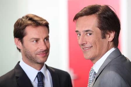 Two businessmen Stock Photo - 13886088