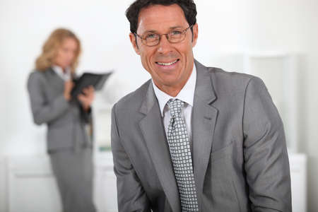 office workers Stock Photo - 13903856