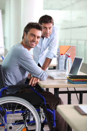 disabled: Insertion at work