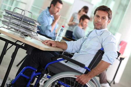 openspace: portrait of a man in wheelchair