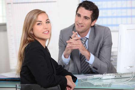 first job: First job interview