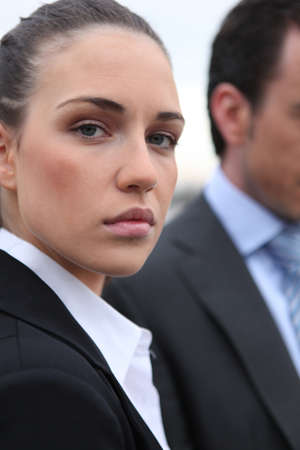 definite: a serious business woman