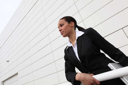 Ambitious businesswoman photo