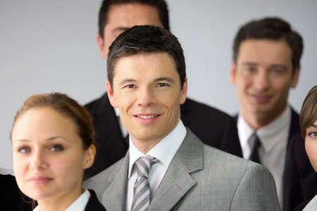 A team of businesspeople photo