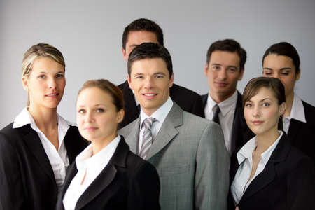 Business group photo