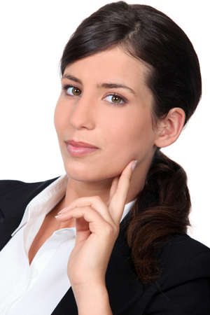 Smart young businesswoman Stock Photo - 13828454
