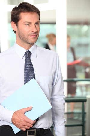 sales representative: Businessman Stock Photo