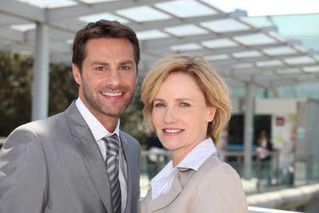 Business couple Stock Photo - 13845961