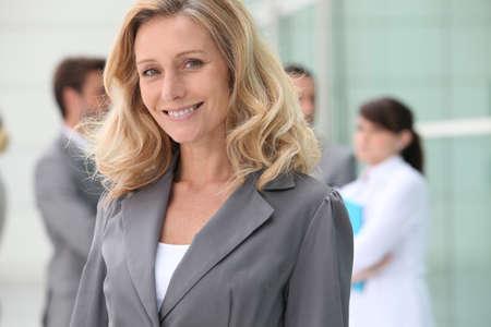 Confident mature businesswoman photo