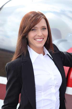 medium body: professional woman