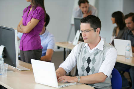 continuing education: Adults attending a workshop