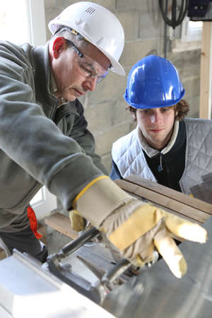 Construction apprentice Stock Photo - 13839765