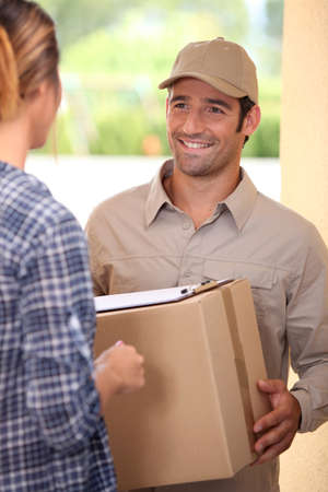 Home delivery Stock Photo - 13841690