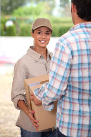Package Delivery Stock Photo - 13841938