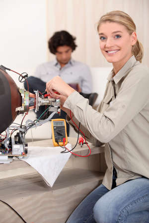 specialization: Appliance Repair Stock Photo