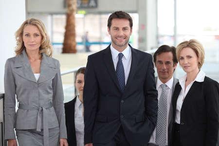 collaborators: Portrait of a business team