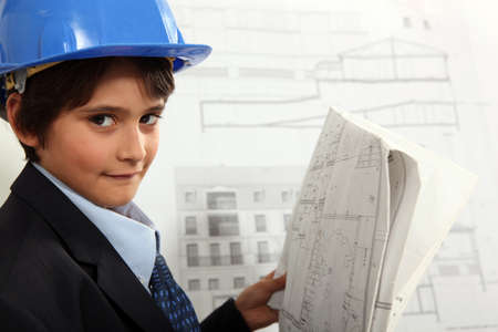 Child Architect Stock Photo - 13866444