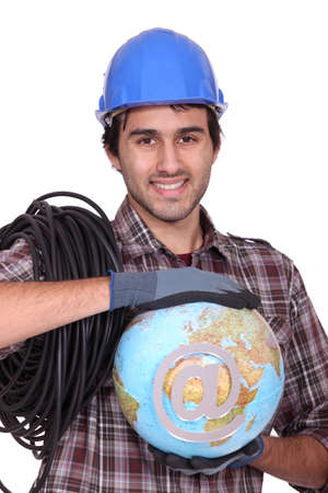 The tradesman, the key to globalization photo